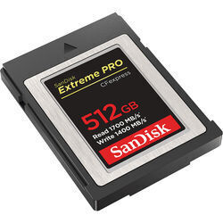 SanDisk 512GB Extreme PRO CFexpress Card Type B