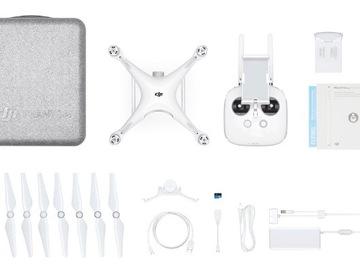 Rent: DJI Phantom 4 Professional+ Quadcopter (Includes Display)