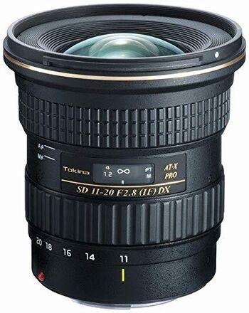 Tokina AT-X 11-20mm f/2.8 Pro DX