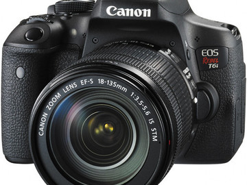 Rent: CANON T6i DSLR KIT WITH 4 LENSES 2 32 GIG SD CARDS & READER