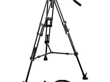 Rent: Manfrotto 351MVB2 Legs w/ 501HDV Head