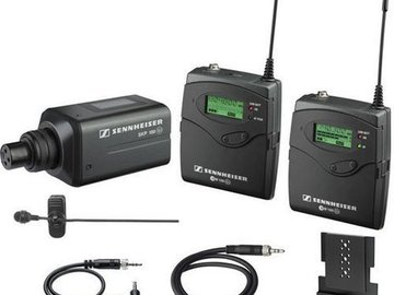 Rent: Sennheiser EW 100-ENG G2 Wireless Lavalier w/Shotgun