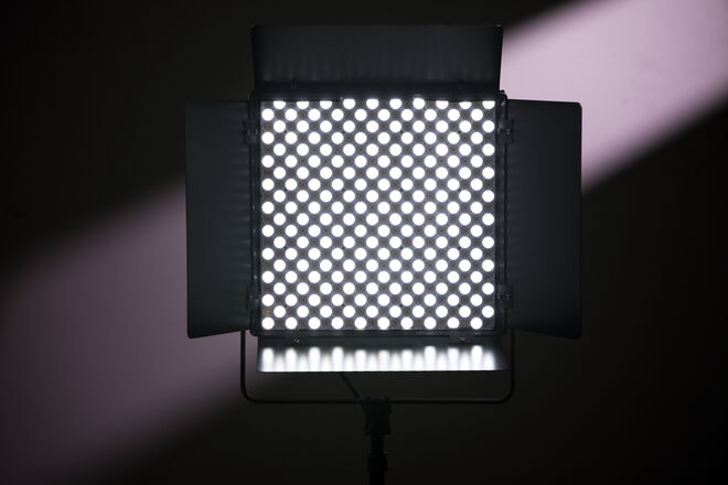 Two (2) Light Lupo 1x1 Bi-Color Superpanel & Accessories Kit