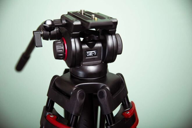 Came-TV Aluminum 3-Section Video Tripod
