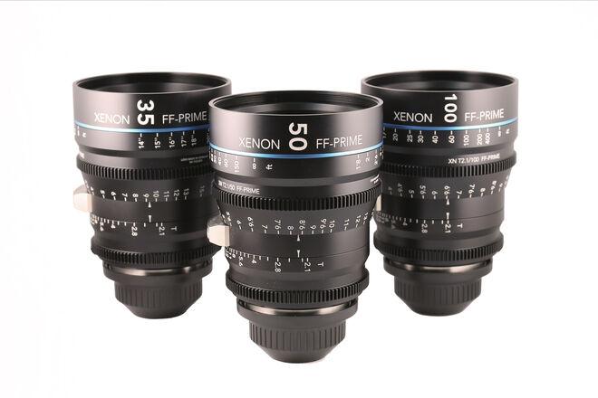 Schneider Xenon FF Lens Set (35, 50, 100mm) PL-Mount