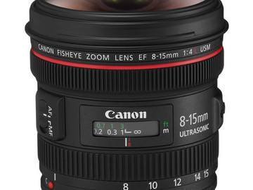 Rent: Canon EF 8-15mm f/4L Fisheye USM Lens