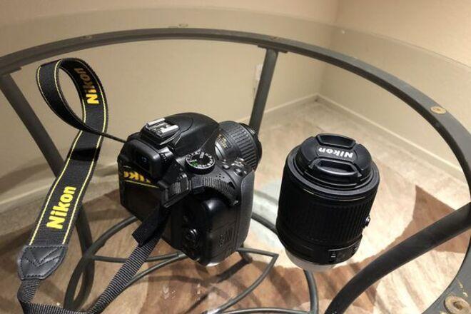 Nikon D3300 with stock lens