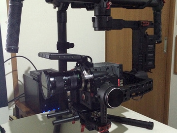 Rent: DJI Ronin 3-Axis Brushless Gimbal Stabilizer W/ Monitor