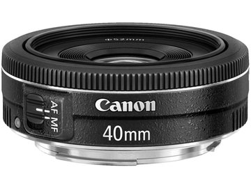 Rent: Canon 40mm 2.8 STM Pancake Lens