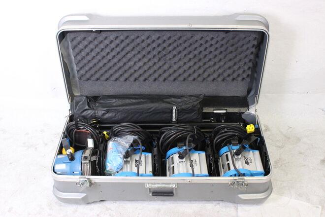 Arri Light 4 Light Kit w Chimera Softbox