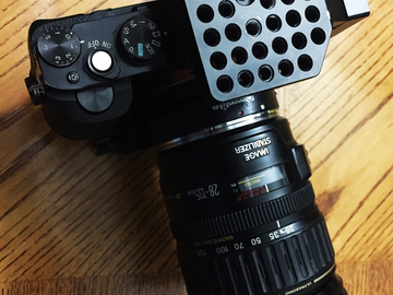 Rent: Sony A7s (Mark 1) +  Canon 28-135mm Zoom Lens