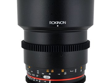 Rent: Rokinon Cine 85mm T1.5 EF Mount (Canon)