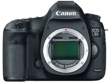 Rent: Canon 5D Mark IV - DSLR