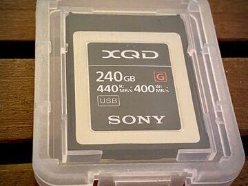 Rent: Sony 256GB XQD G Series Memory Card (400MB/s)