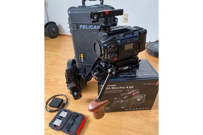 Blackmagic URSA Mini Pro 4.6K Ready to Shoot Package