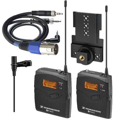Sennheiser ew 100 ENG G3 Wireless Mic Combo System