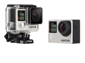 Rent: GoPro Hero 4 Black Rental Kit (Unlimited Mounting Options)