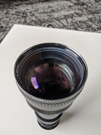 Angenieux 25-250 T3.9 Vintage PL Zoom Lens (Modernized)