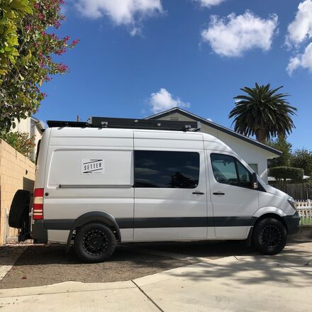 1 Ton G&E Sprinter Van Package + Aputure Lights + Driver