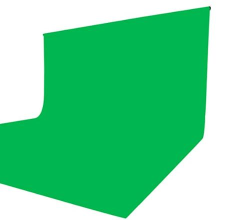 10' x 24' Green Screen & Stands Kit