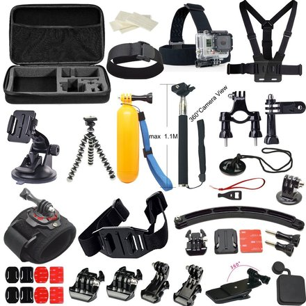 GoPro Hero 4 Black Rental Kit (Unlimited Mounting Options)