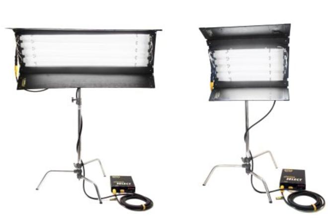 Kino & c- stand package : (x2) 4x4 kinos & (x1) 2x4 kino