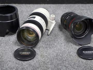 Rent: Canon 24-105 & 70-200