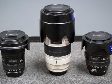 Rent: Canon 16-35 & 24-105 & 70-200