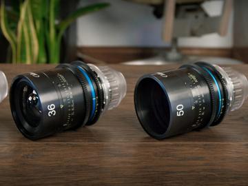 Rent: Celere Lenses + DJI Ronin + Mattebox *Evenly weighted Lenses
