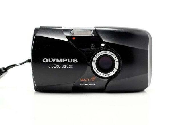 Olympus Stylus Epic - 35mm f/2.8 - MJU II -  35mm point and