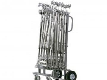 Rent: 14- AMERICAN GRIP C-STANDS W/Studio Cart