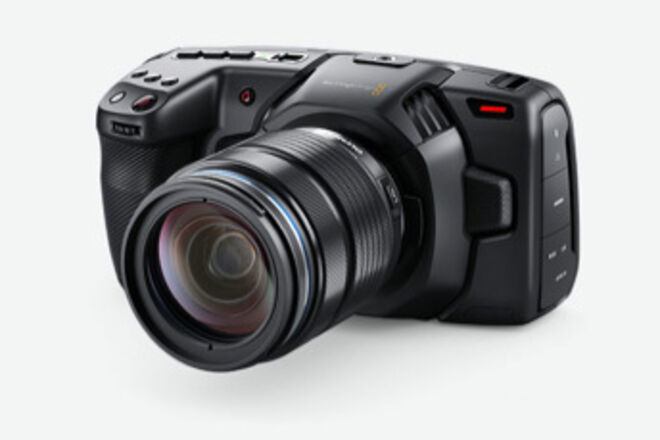 Blackmagic Design Pocket Cinema Camera 4K w Metabones