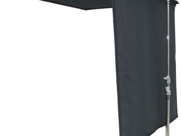 "Rent: 48""x48"" American Grip Black Solid Floppy"