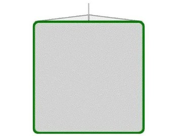"Rent: 48""x48"" American Grip Single Net"