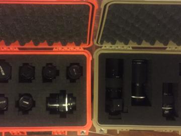 Nikon/Nikkor AIS Prime Set with ND Filters