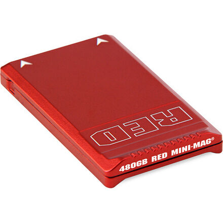 RED MINI-MAG 480 GB with reader