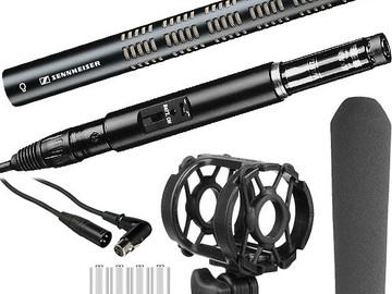 Rent: Sennheiser ME66/K6 Shotgun Mic + Zoom H4n Handy Recorder