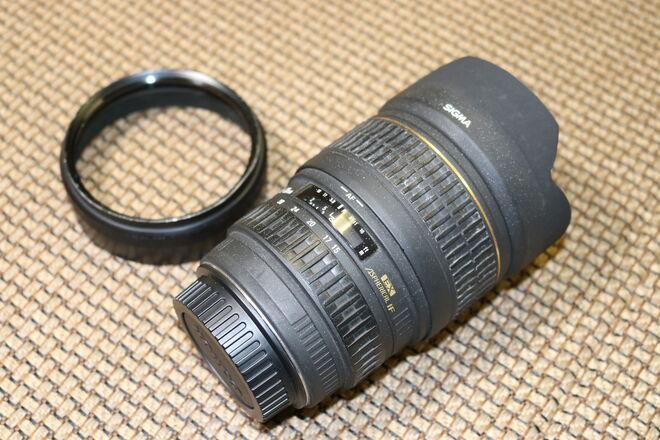 SIGMA 15-30mm f/3.5-4.5 EX Aspherical DG lens