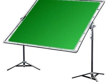 Rent: 12' X 12' American Grip Digital Green Screen