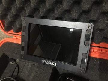 "Rent: 7"" SmallHD DP7-Pro On-Camera Field Monitor Package"