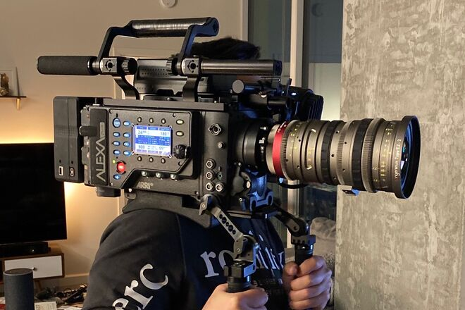 ARRI Alexa Plus with LDS (Highspeed and Anamorphic Licenses)