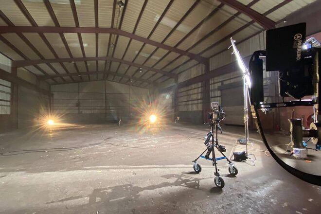 Huge Raw Industrial Warehouse