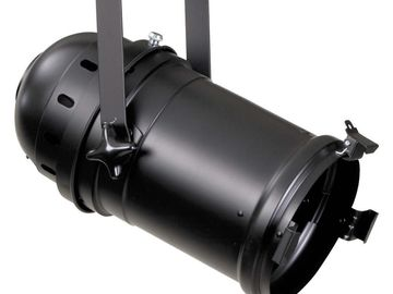 Rent: 1- Black Par 64 Stage Light w/Baby Pin Receiver