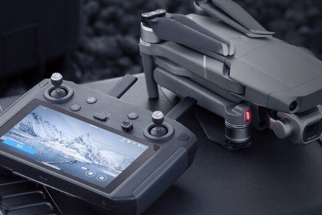DJI Mavic 2 Pro Quadcopter w/Smart Controller, 7 Batteries