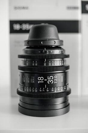 Sigma Cine 18-35mm T2 PL Mount