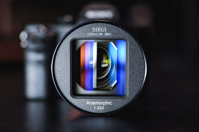 Sirui 50mm F1.8 Anamorphic for Sony E-Mount