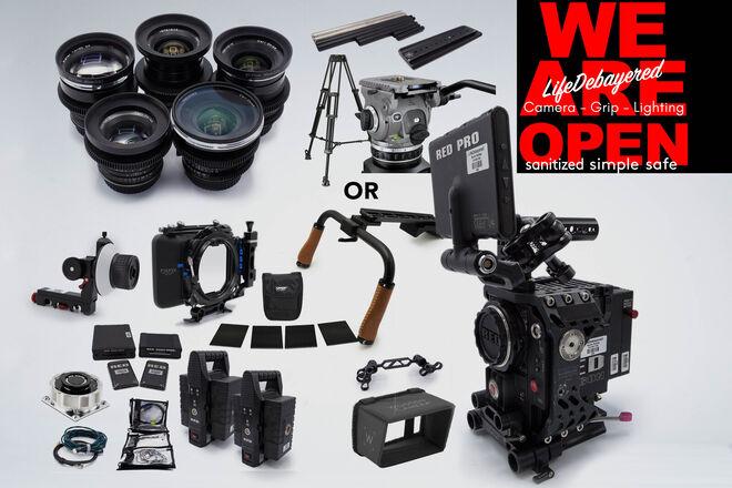 RED Epic Dragon 6K w/ Zeiss Duclos Cinemod Distagon Mega kit