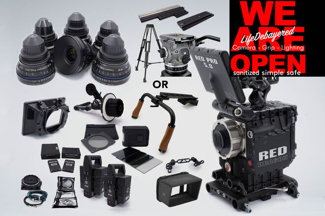 RED Epic Dragon 6K w/ Zeiss CP2 Super Speed Package