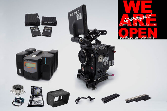 RED Epic Dragon 6K base kit