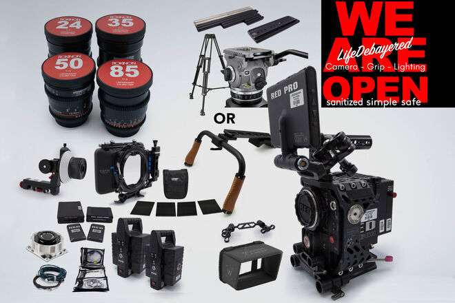 RED Epic Dragon 6K w/ Rokinon CineDS Package